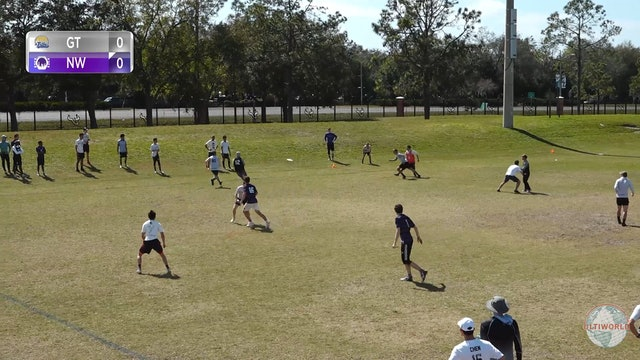 Georgia Tech vs. Northwestern | Men's Match Play | Florida Warm Up 2020