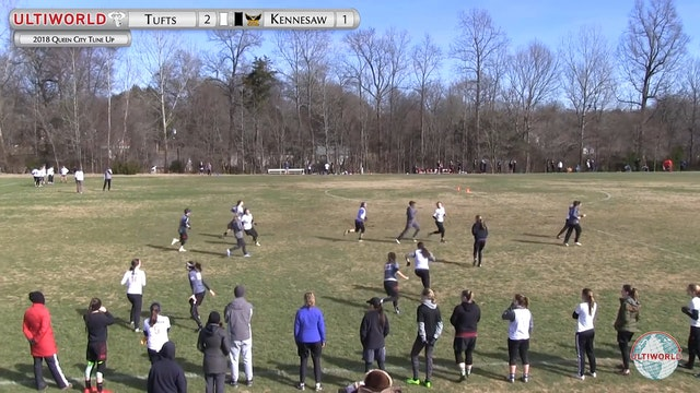 Queen City Tune Up 2018: Tufts v Kennesaw State (W Pool)