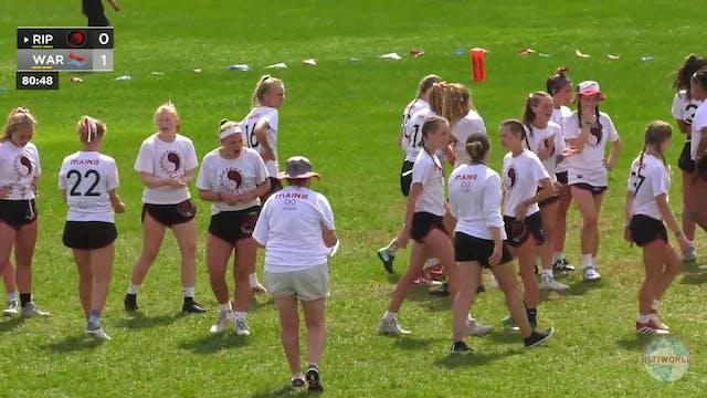 Rip Tide vs. Warhawks | Girl's Final ...