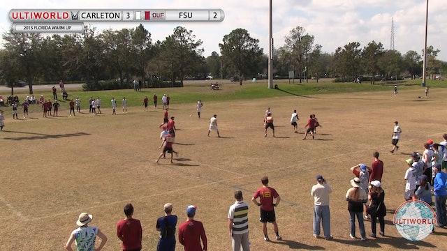 Florida Warm Up 2015: Florida State v Carleton (M Semis)