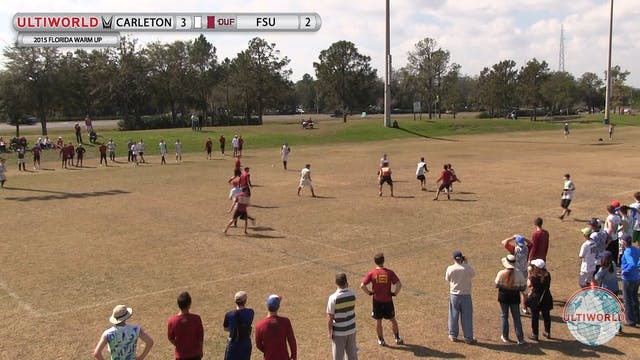 Florida Warm Up 2015: Florida State v...