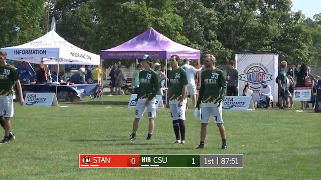 2017 D-I College Championships: Stanford v. Colorado State (M Pool Play)
