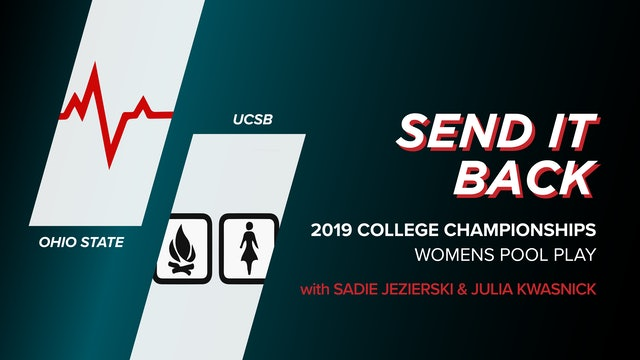 Ohio State vs. UCSB: 2019 College Championships (Send it Back)