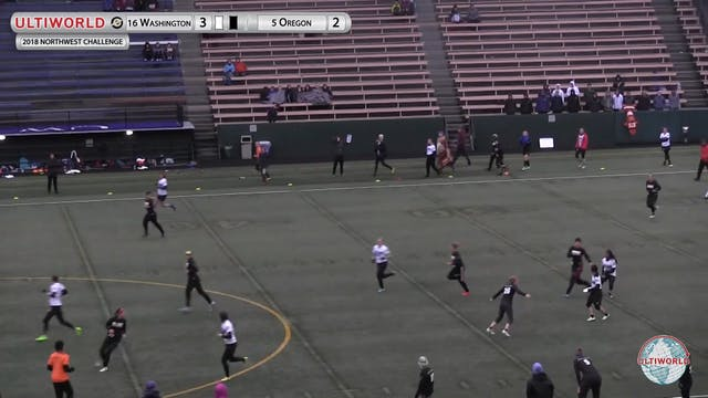 Washington vs. Oregon | Women's Pool ...