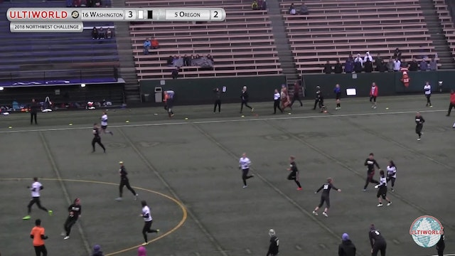 Northwest Challenge 2018: #16 Washington v #5 Oregon (W Pool)