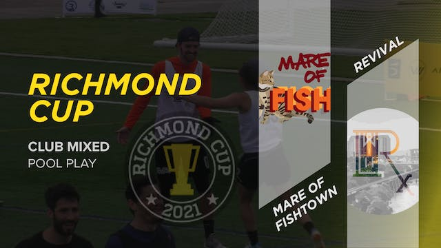 Mare of Fishtown vs Revival | Mixed Pool Play