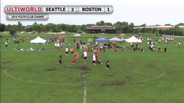 BUDA vs. Seattlesaurs | Girl's Final ...