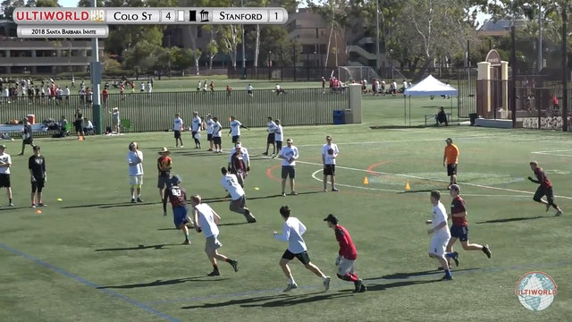 Santa Barbara Invite 2018: Colorado State v Stanford (M Semi)