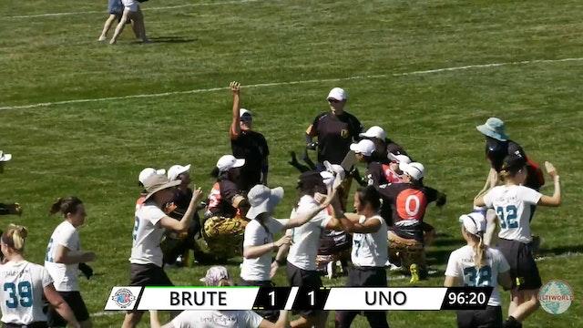 WUCC 2018: Brute Squad (USA) v. UNO (JPN)