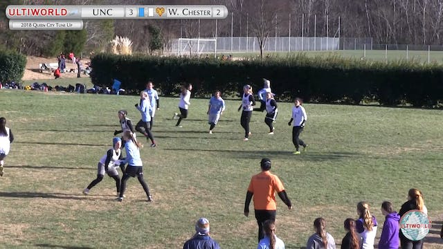 North Carolina vs. West Chester | Wom...
