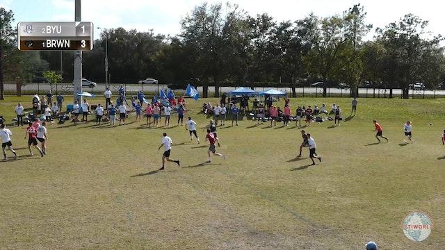 Brown vs. BYU | Men's Match Play | Florida Warm Up 2020