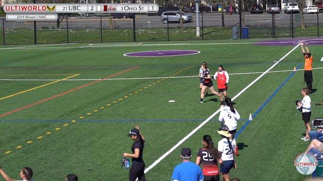 Women's Northwest Challenge 2019: #21 UBC vs #3 Ohio State (W Final)