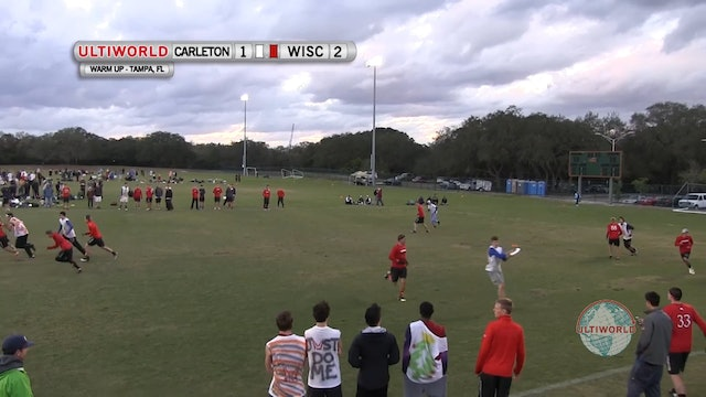 Carleton vs. Wisconsin | Men's Match Play | Florida Warm Up 2013