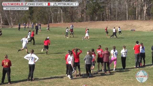 Ohio State vs. Pittsburgh | Women's Semifinal | Queen City Tune Up 2017