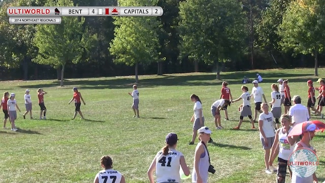 Bent vs. Capitals | Women's Pool Play | Northeast Regionals 2014