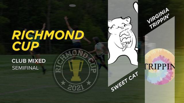 Sweet Cat vs. Virginia Trippin'   Mixed Semifinal