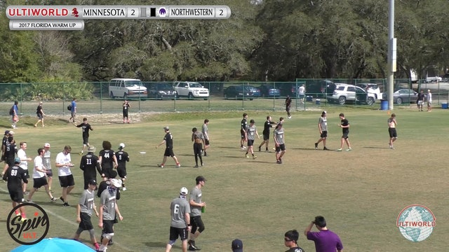 2017 Florida Warm Up - Minnesota v. Northwestern (Semifinal)