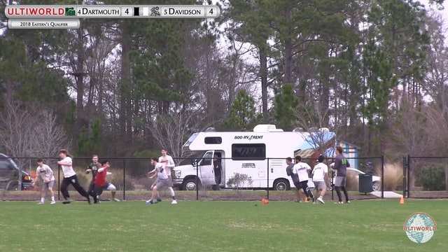 Eastern's Qualifier 2018: #4 Dartmouth v #5 Davidson (M Pool)