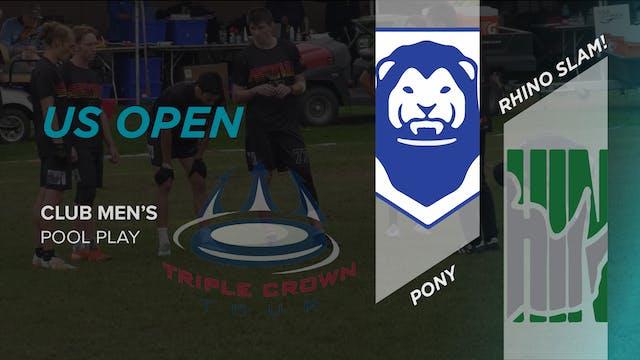 Rhino Slam! vs. PoNY | Men's Pool Play