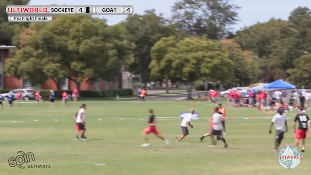 GOAT vs. Sockeye | Men's Semifinal | Pro Flight Finale 2013