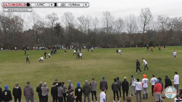 Queen City Tune Up 2019: #1 North Carolina vs #7 UMass (M Final)
