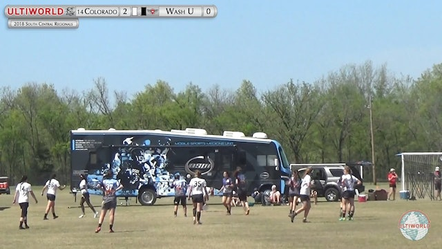 Colorado vs. WashU | Women's 2nd Place Final | South Central Regionals 2018