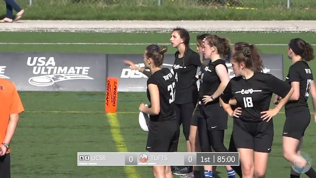 2018 D-I Nationals: UCSB v. Tufts (W)