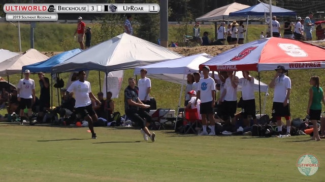 UpRoar vs. Brickhouse | Men's Pool Play | Southeast Regionals 2019