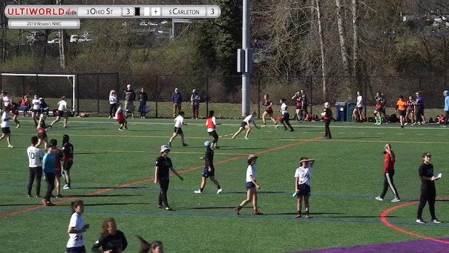Women's Northwest Challenge 2019: #3 Ohio State vs #5 Carleton (W Semi)
