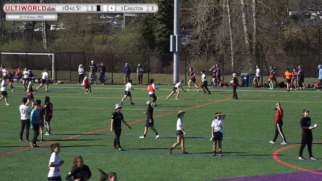 Women's Northwest Challenge 2019: #3 Ohio State vs #5 Carleton (W Semi)