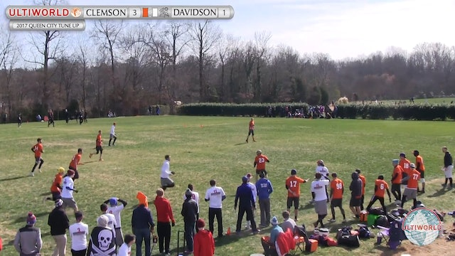 Clemson vs. Davidson | Men's Pool Play | Queen City Tune Up 2017