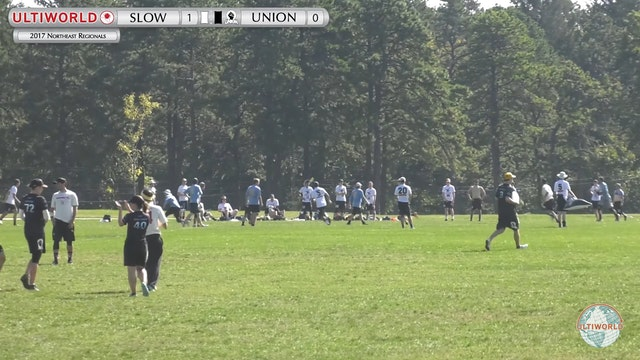 NE Regionals 2017: Slow White v. Union (X 1st Place Semi)