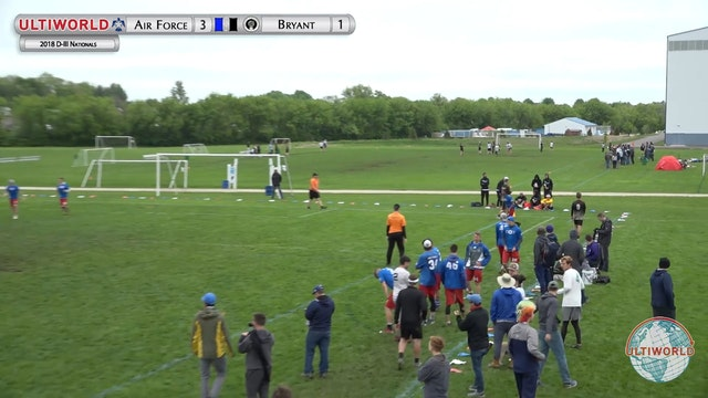 D-III Nationals: Air Force v. Bryant [Men's Final]