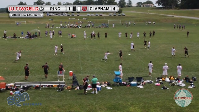 Ring of Fire vs. Clapham | Men's Pool Play | Chesapeake Open 2013