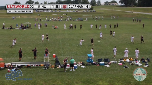 Chesapeake Open 2013: Ring of Fire vs Clapham (M)