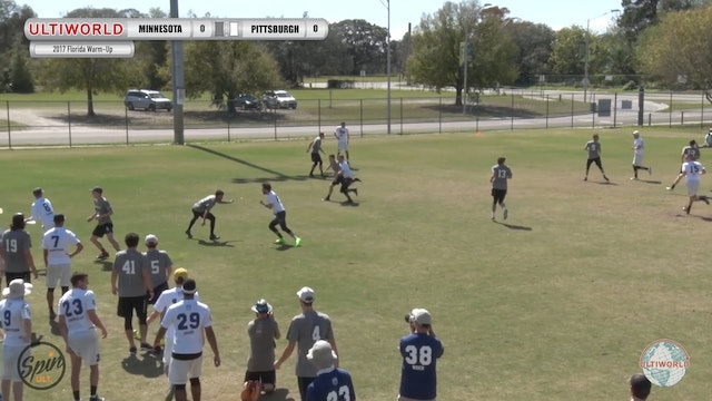 2017 Florida Warm Up: Minnesota v Pittsburgh (Finals) presented by Spin Ultimate
