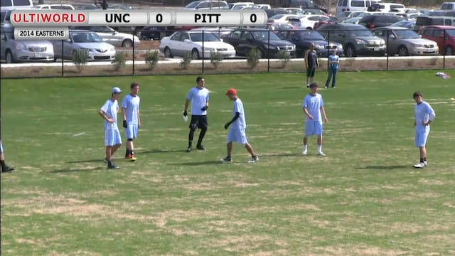 Easterns 2014: Pittsburgh vs North Ca...