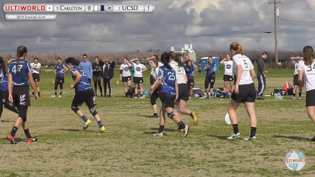 UCSD vs. Carleton | Women's Final | S...