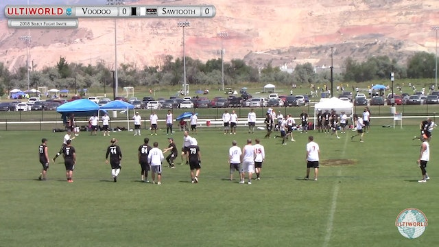 Select Flight Invite 2018: Seattle Voodoo v Boise Sawtooth (M Pool)