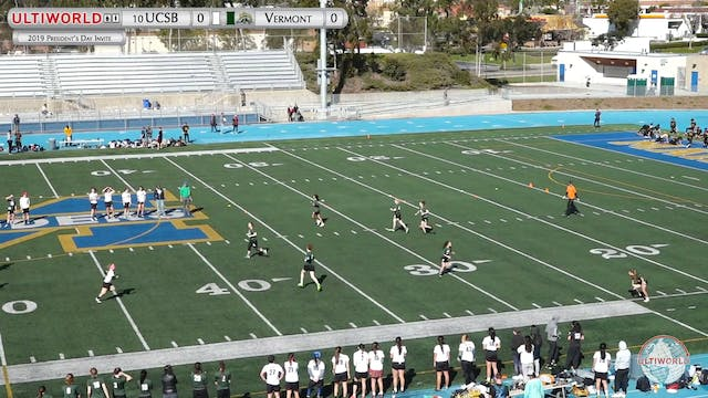 UCSB vs. Vermont | Women's Semifinal ...