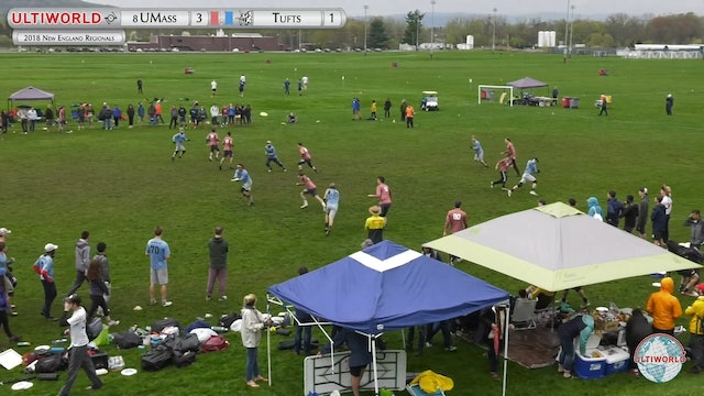 Massachusetts vs. Tufts | Men's 2nd Place Final | New England Regionals 2018