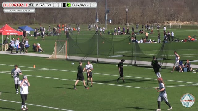 Georgia College vs. Franciscan | Men'...