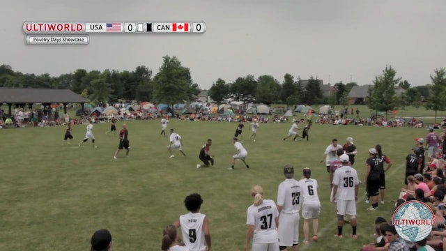 Poultry Days 2013: Team USA vs Team Canada (X Showcase)