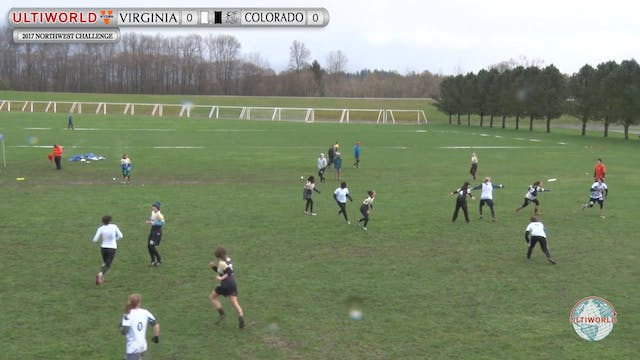 Virginia vs. Colorado | Women's Pool ...