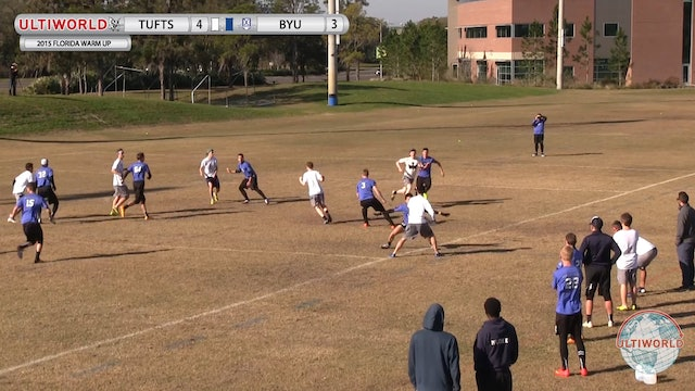 Tufts vs. BYU | Men's Match Play | Florida Warm Up 2015