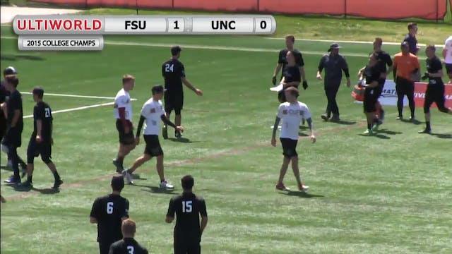 College Championships 2015: UNC v Flo...