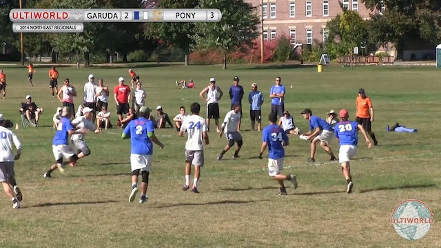 Garuda vs. PoNY | Men's 3rd Place Final | Northeast Regionals 2014