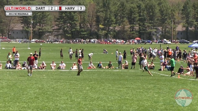 NE Regionals 2013: Harvard vs Dartmouth (M Final)