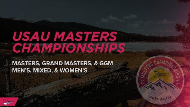 USAU Masters Championships 2021