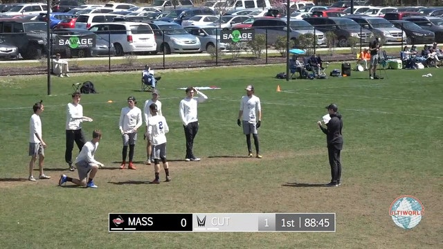 Easterns 2018: #2 Carleton v. #15 UMass (Final)